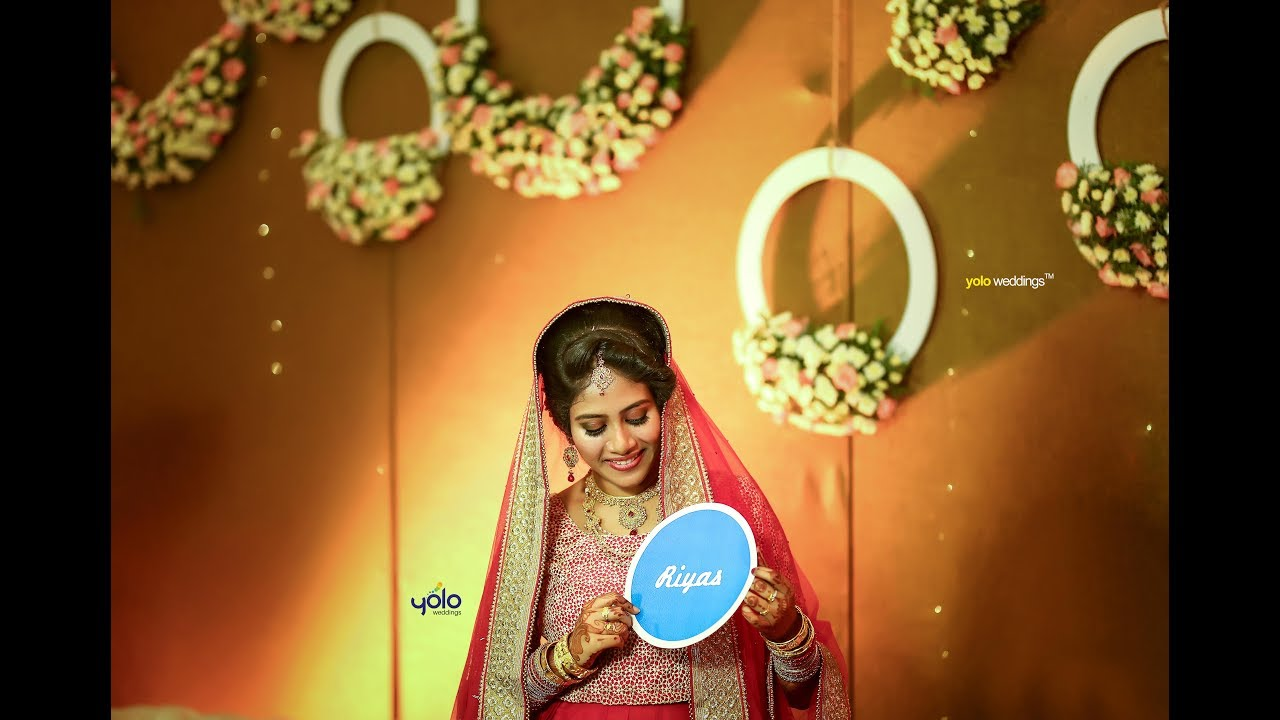Muslim Wedding Highlights Aneesha Riyas I O Zalima Song
