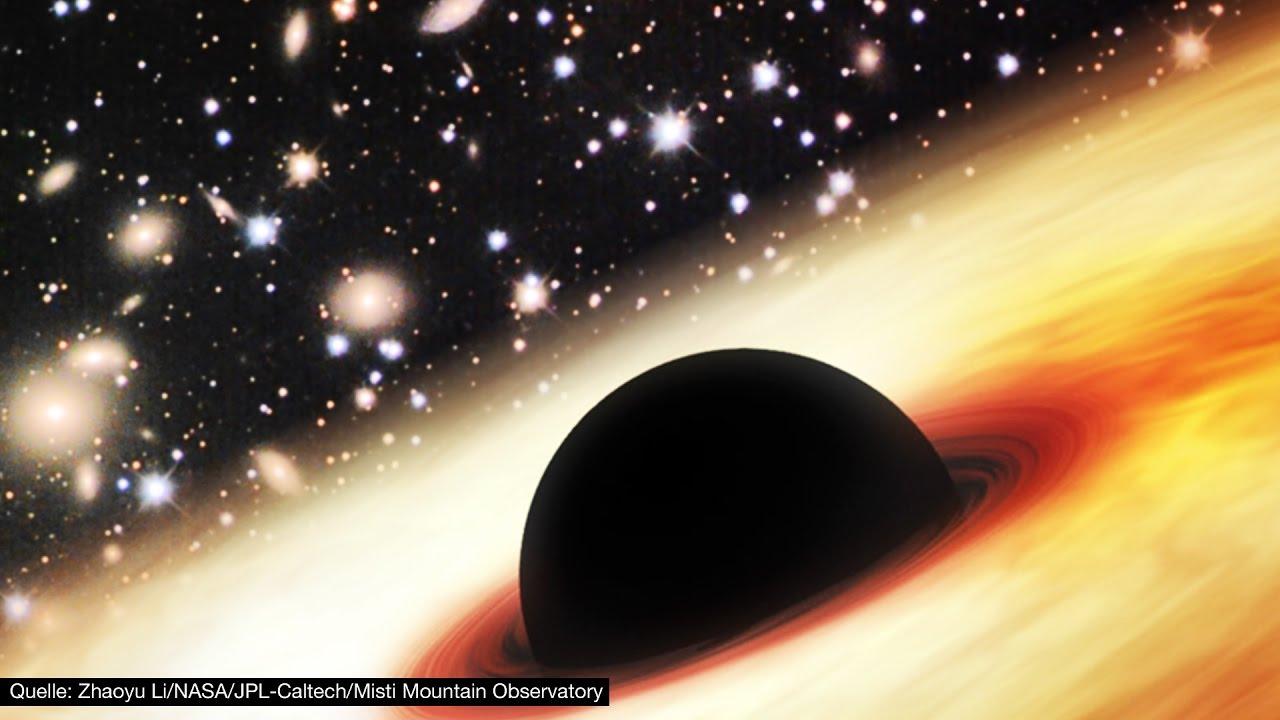 Schwarzes Loch Entdeckt