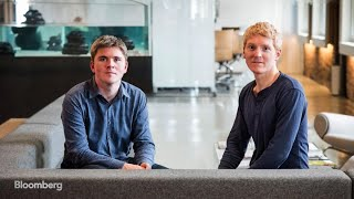John & Patrick Collison on 'Bloomberg Studio 1.0'