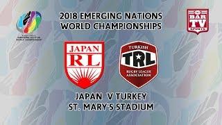 2018 Emerging Nations World Championships - Pool C - Japan v Turkey