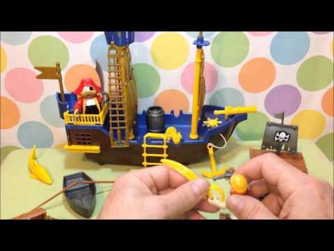 Pirates Toys - Pirate Playset from Kids Staff Игровой набор Пираты Игрушки и Игры для Мальчиков