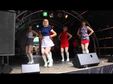 Go Go Dancers Carnaby Street London 2