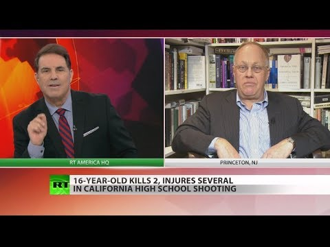 Chris Hedges: Why school shootings are no longer news (Full show)