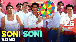 Video Soni Soni Song | Mohabbatein | Shah Rukh Khan | Uday Chopra | Jugal Hansraj | Jimmy Shergill download MP3, 3GP, MP4, WEBM, AVI, FLV Juli 2018