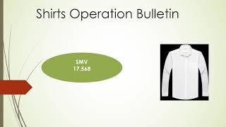 Shirts operation bulletin