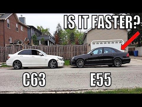 I Modified My E55 AMG Transmission To Shift Like My C63 AMG & It's