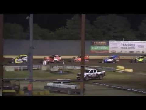 New Egypt Speedway 358 Modified Feature Finish!  7-15-2017 Pt. 3