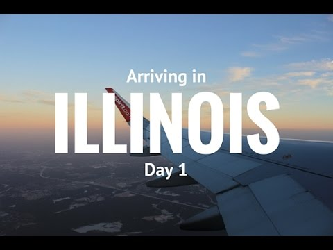 Flying to Illinois