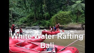 White Water Rafting Adventure at Ayung River Bali
