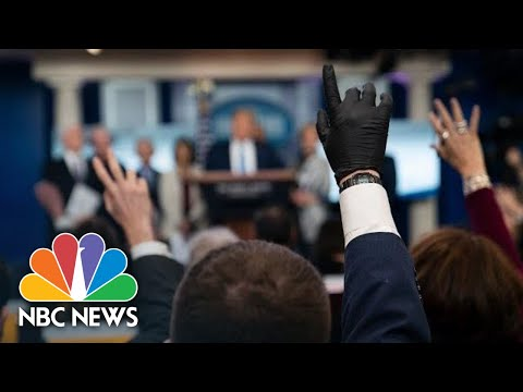 Trump, White House Coronavirus Task Force Hold News Conference | NBC News (Live Stream Recording)