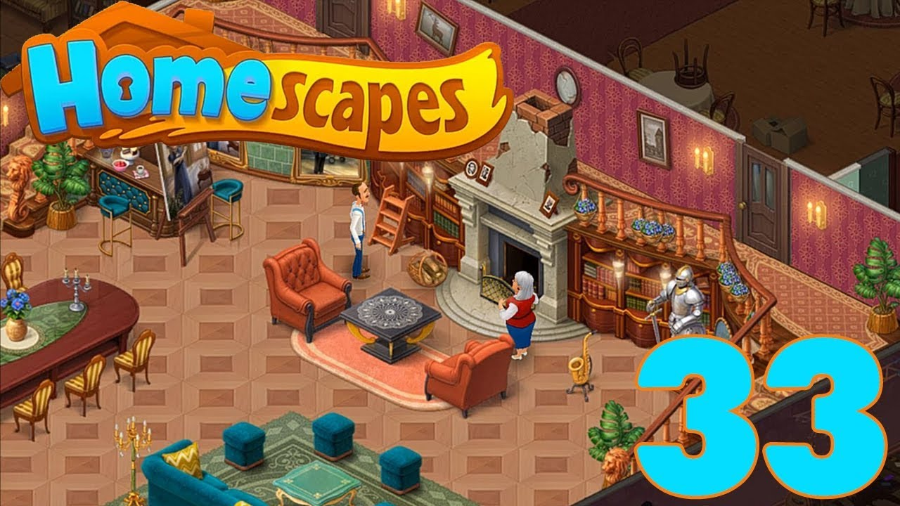 HOMESCAPES STORY WALKTHROUGH - PART 33 GAMEPLAY - ( iOS ...