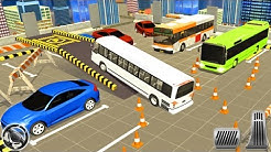 Modern Bus Parking 3D Simulator - Best Android Gameplay