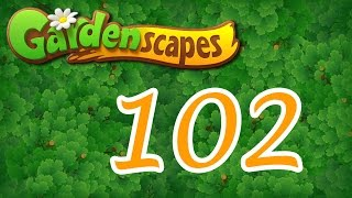 gardenscapes level 102 Walkthrough