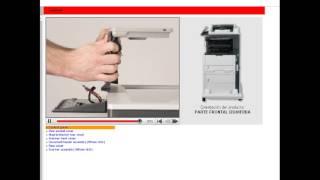 scanner flatbed scanner assy M725