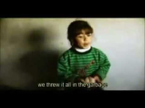 Gaza Girl Talks of her Pain & Fears