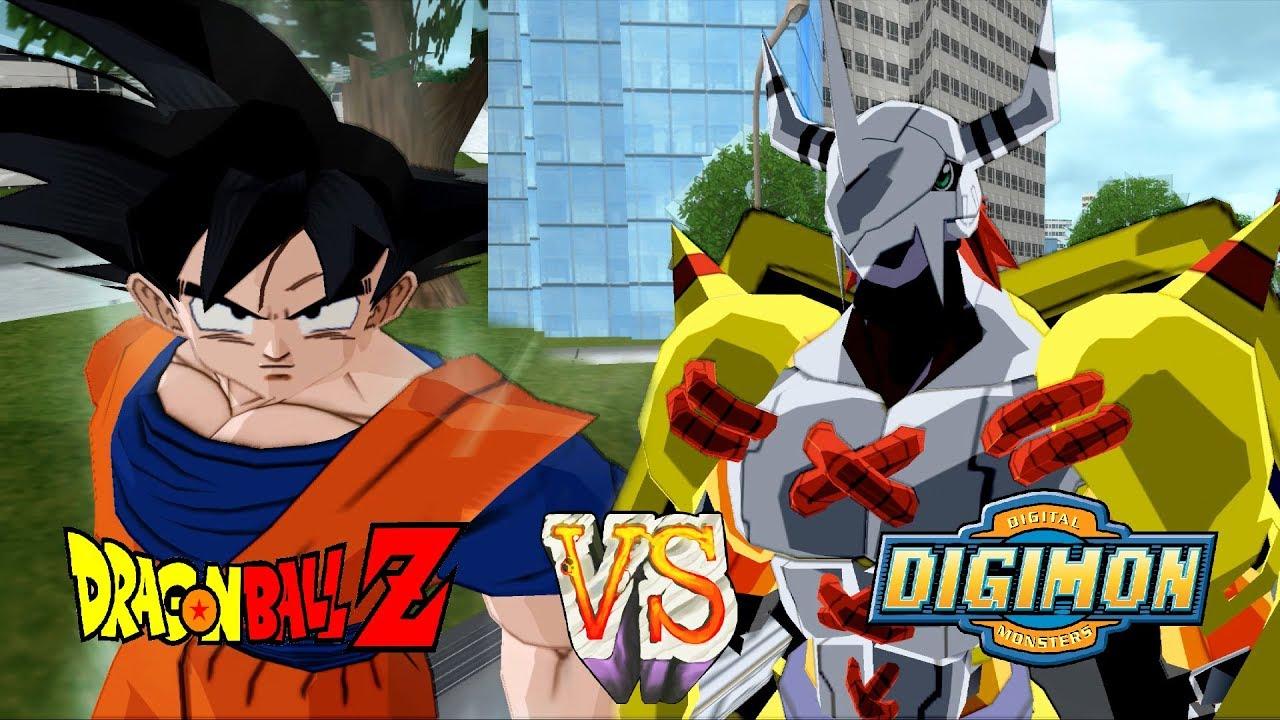 Wargreymon vs goku digimon meets dragon ball z dbz - Dragon ball z 187 ...