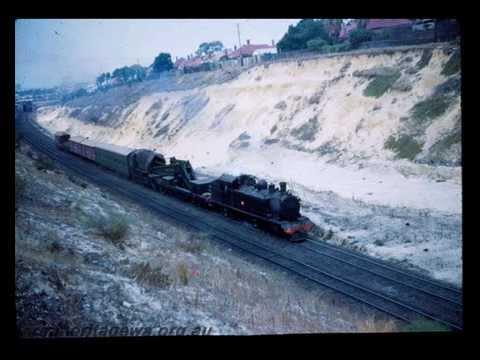 Perth Railways WA - A Glimpse Back