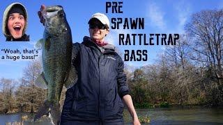 BIG Pre-Spawn Bass Ft. Andrew Flair!! | TylersReelFishing