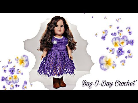 How To Crochet | Pansy Paradise | American Girl  18