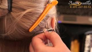 Наращивание волос Москва. студия Златовласка.(В этом видео вы увидите, примеры работ, а также процесс наращивание волос, горячим итальянским методом,..., 2013-02-09T17:03:30.000Z)