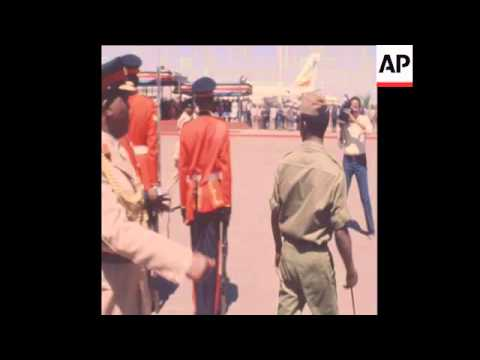 SYND 3 12 80 VISIT TO NAIROBI BY ETHIOPIAN LEADER MENGISTU MARIAM