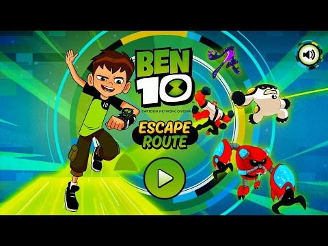 BEN 10 GAME - ESCAPE ROUTE BEN REBOOT 2016 COMENTADO 1080HD