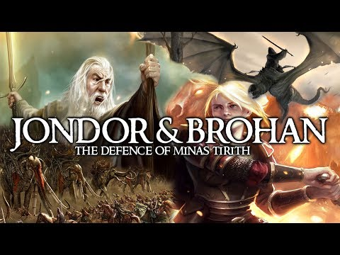 BFME2: Edain Mod Custom - The Defence of Jondor & Brohan!!