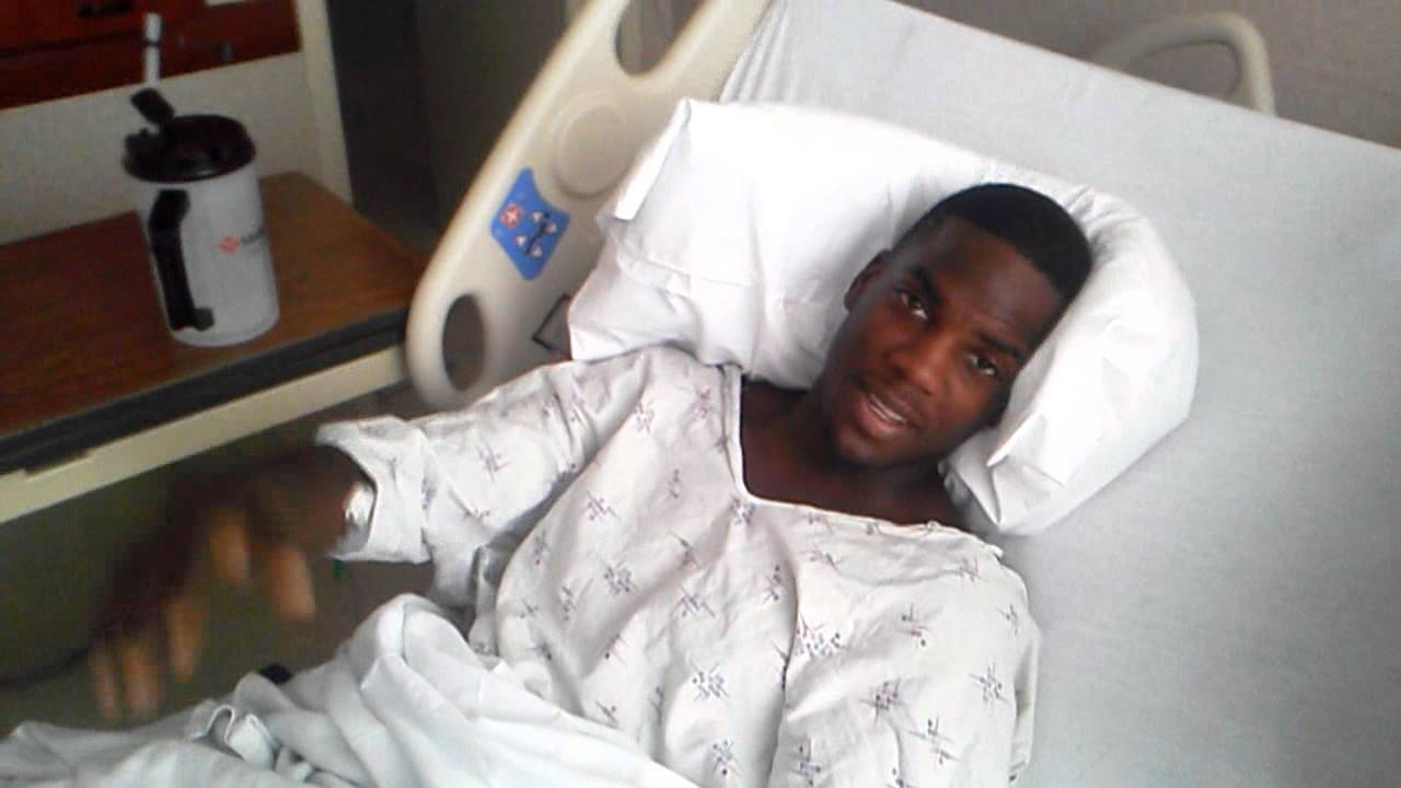 DIES ON CAMERA IN THE HOSPITAL