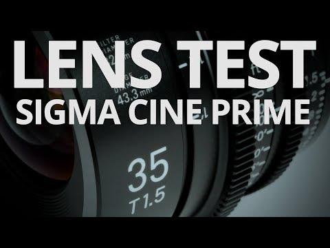 Sigma 35mm T15 Cine Prime - Lens Test 