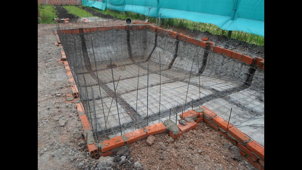 Como hacer una pileta de hormigon armado youtube for Construir piscina concreto