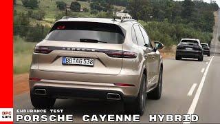 2019 Porsche Cayenne Hybrid - 2018 Endurance Test