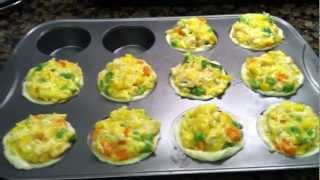 Toddler Meal Idea: Chicken Pot Pie Cupcakes