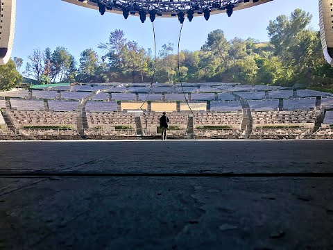 Googoosh Behind the Stage - Hollywood Bowl