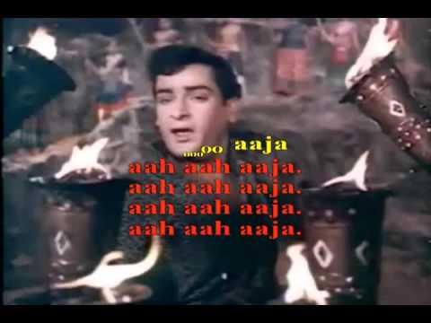 Video Karaoke of Aaja aaja mein hoon from Hyderabad Karaoke Club - www.hkclub.in