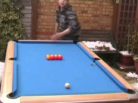 James Ballard Pool Tricks Ultimate Trick Shots YouTube - Ballard pool table