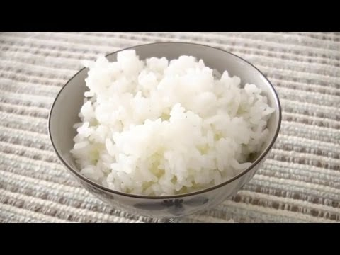 How to Cook Steamed White Rice (Gohan) in a Rice Cooker Recipe | OCHIKERON | Create Eat Happy :)