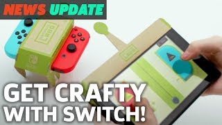 Nintendo Labo is a Bizarre New DIY Game 'Experience' - GS News Update
