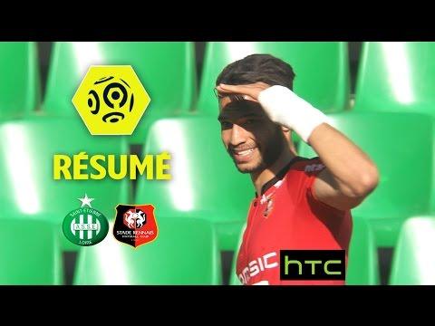 AS Saint-Etienne - Stade Rennais FC (1-1)  - Résumé - (ASSE - SRFC) / 2016-17