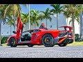 Lamborghini Aventador SV LP750-4 RED BULL Interior Exterior Start up SOUND at Lamborghini Miami