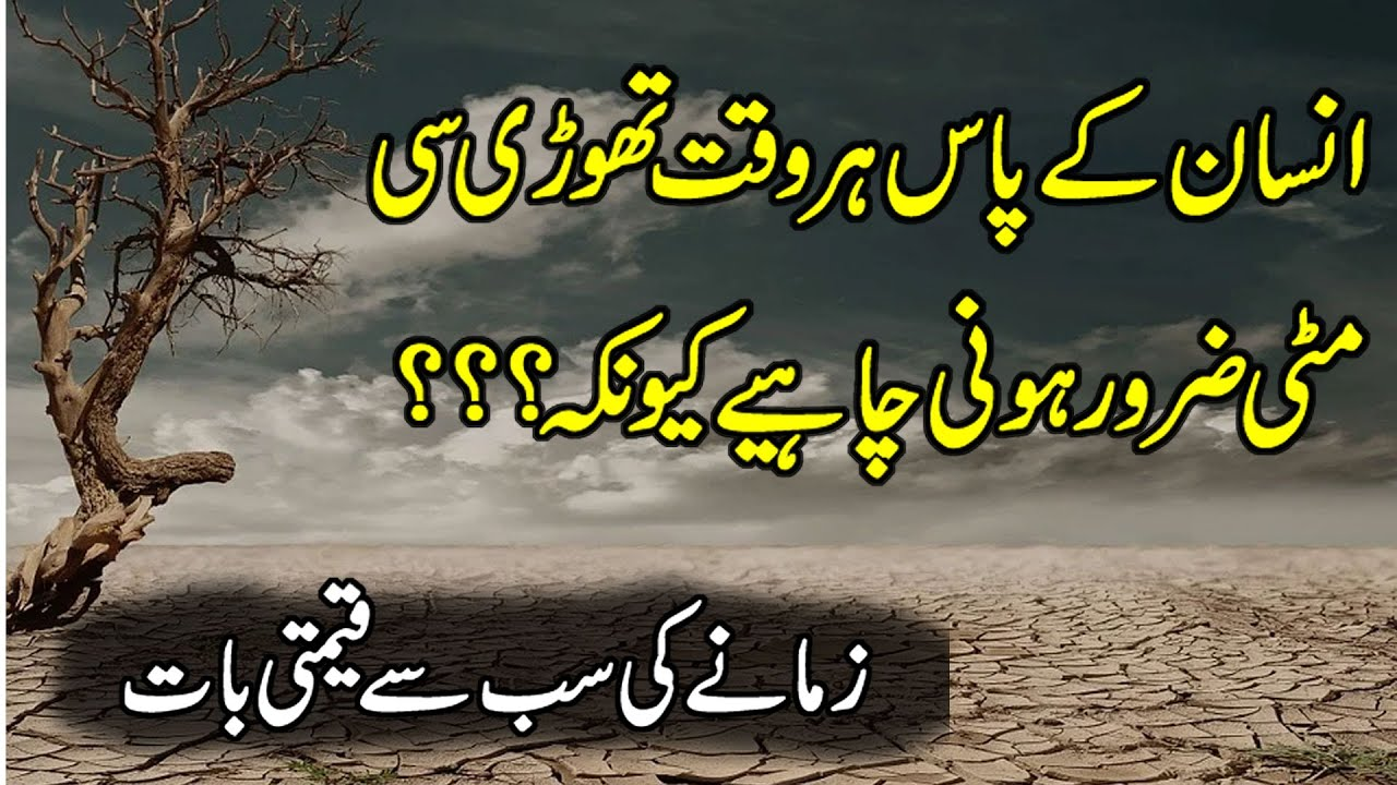 New Collection Of Quotes | Achi Batain | Golden Words In Urdu | Urdu Aqwal | Best Hindi Quotes |