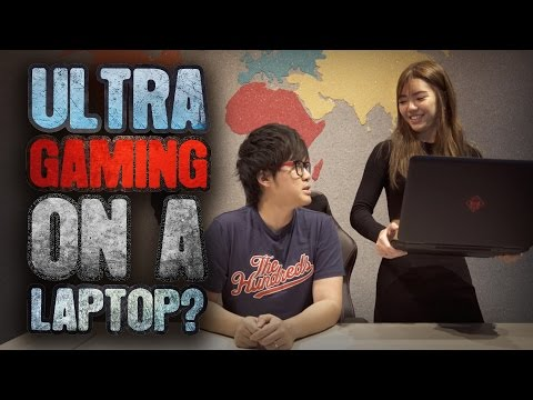 Ultra Gaming On A Laptop? - Unboxing the OMEN By HP