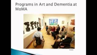 Creativity & Aging: Creativity, Communication and Dementia