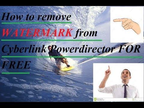 powerdirector 14 watermark