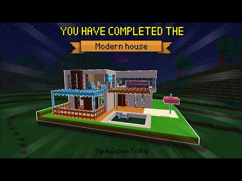 Block Craft 3D : Building Simulator Games For Free Gameplay#397 (iOS & Android) | Modern House