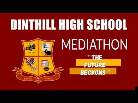 Join the Dinthill High School Mediathon  July 25, 2021 at 1  p.m.