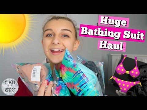 HUGE CUPSHE BATHING SUIT HAUL