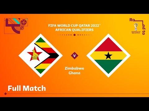 Zimbabwe v Ghana   FIFA World Cup Qatar 2022 Qualifier   Full Match