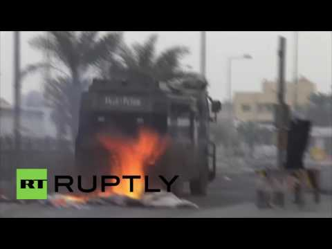 Bahrain: Fiery clashes erupt in Manama after Shia cleric stripped of citizenship
