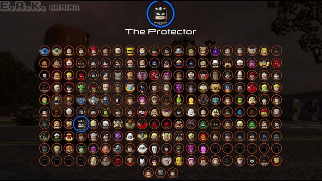 marvel lego tous les personnages