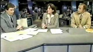 CNN Coverage of The STS-51-J Launch & Landing